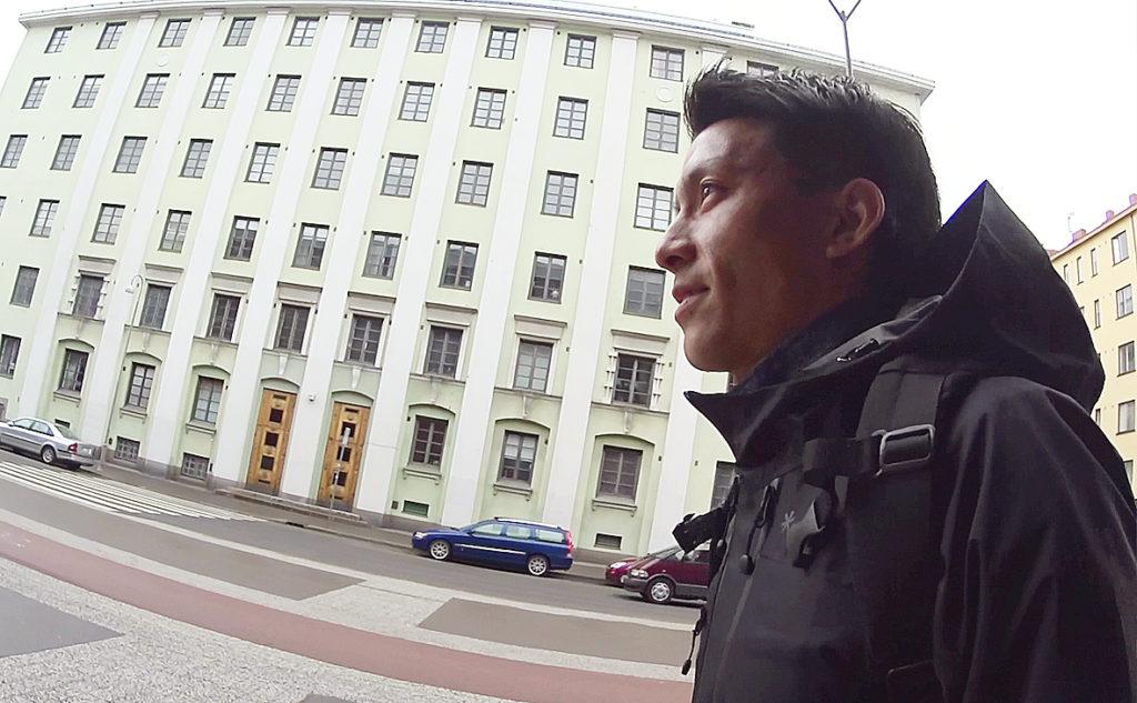 ヘルシンキと新潟は似ているとコメントする田中亜土夢選手