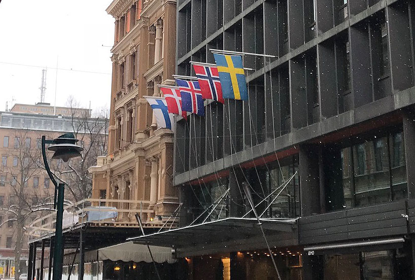lifte 北欧5か国 国旗
