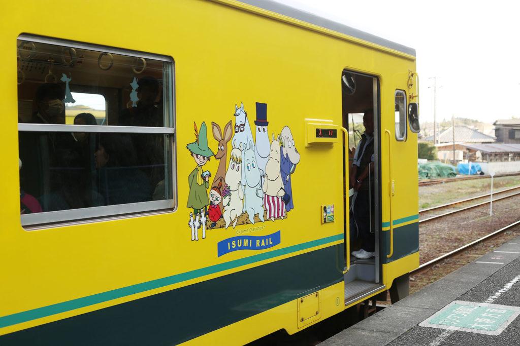 LifTe いすみ鉄道 ムーミン列車2