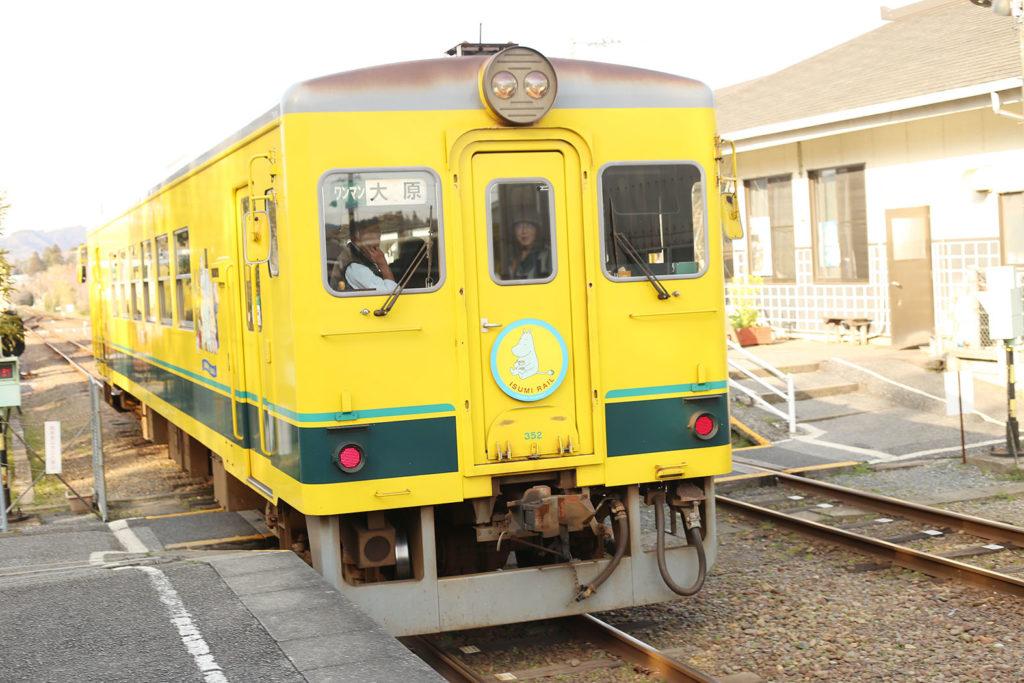 LifTe いすみ鉄道 ムーミン列車