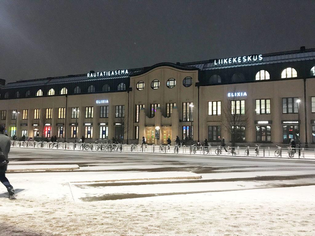 LifTe ヘルシンキ中央駅