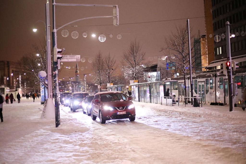 LifTe ヘルシンキ市街 夜