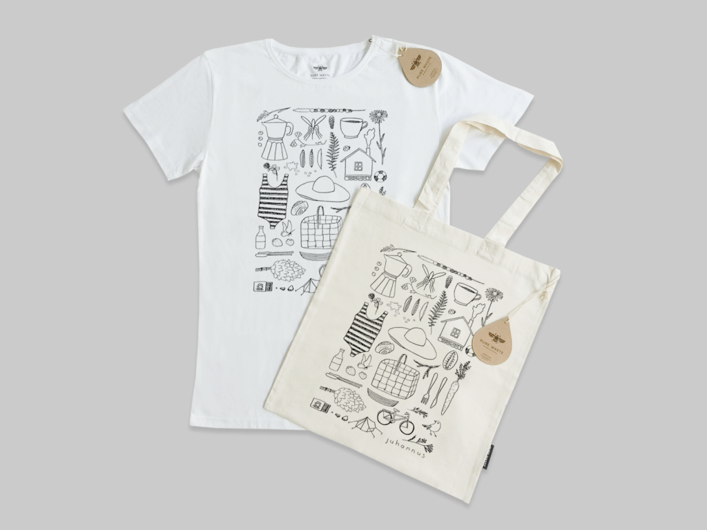 LifTe 北欧の暮らし Nordic Designers Competition for New Designers Tシャツ トートバッグ saana ja olli