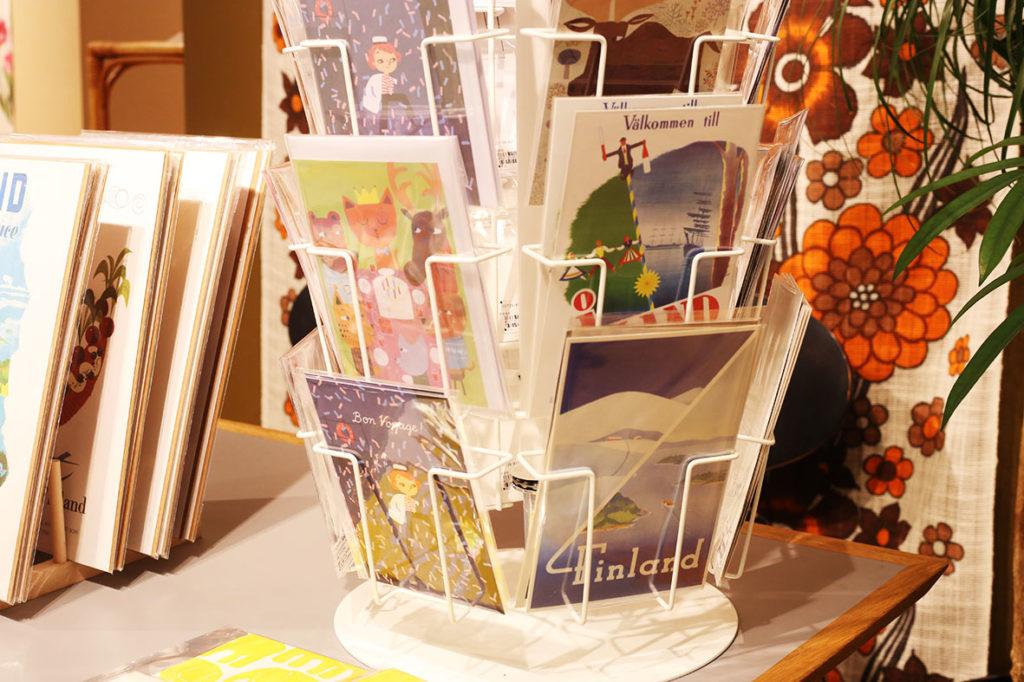 LifTe 北欧の暮らし 西武池袋本店 北欧マルシェ 2018「ヴィンテージ家具とテキスタイルフェア」 ポストカード