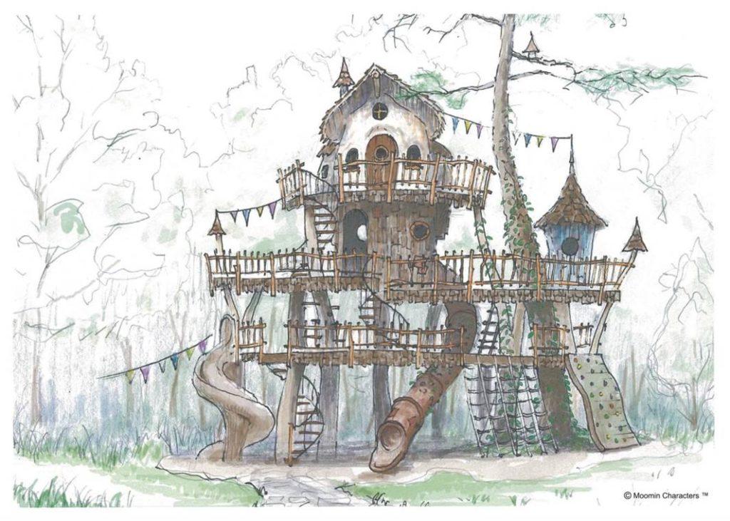 LifTe 北欧の暮らし ムーミンバレーパークおさびし山 ツリーハウス