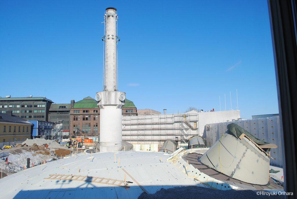 LifTe 北欧の暮らし AMOS REX 建設中
