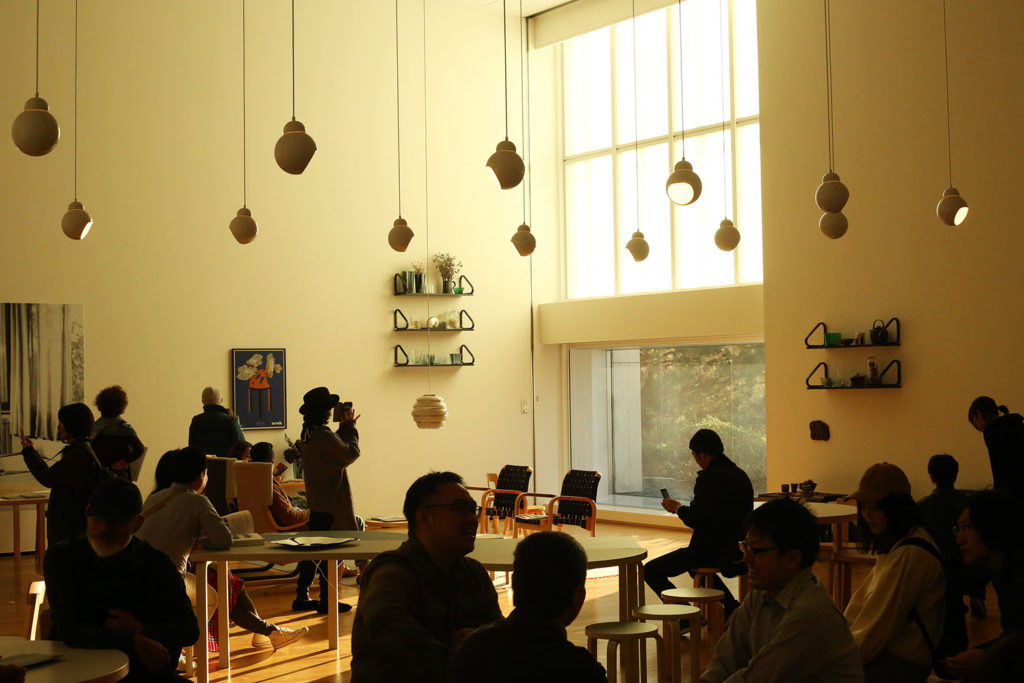 LifTe 北欧の暮らし アルヴァ・アアルト展 神奈川県立近代美術館 アアルトルーム