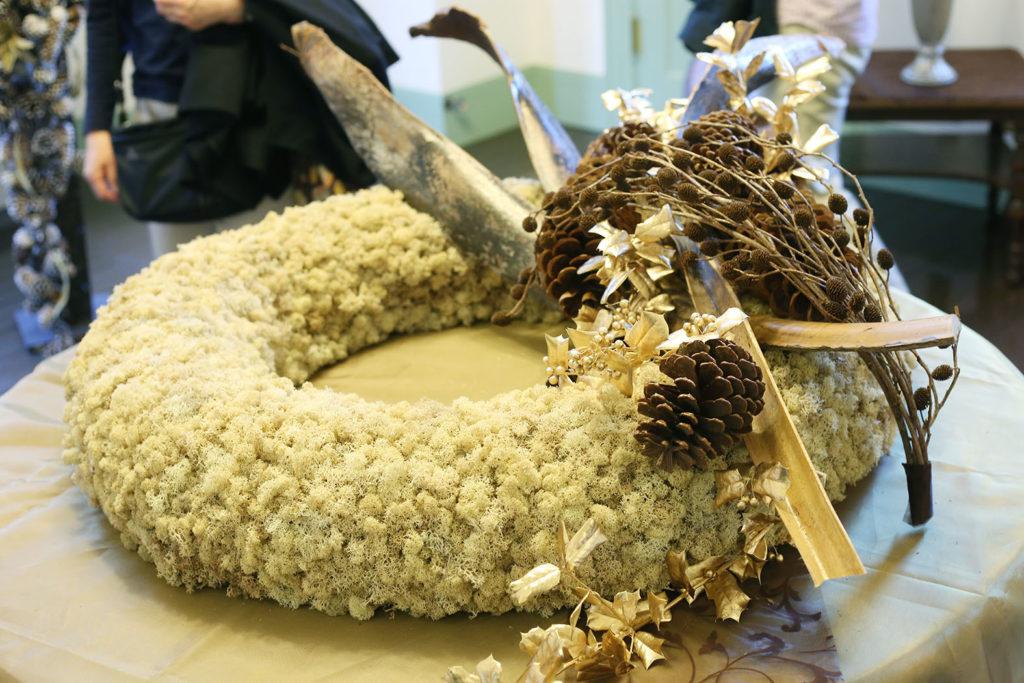 LifTe 北欧の暮らし ブラフ18番館 ヘンティネンクミ クリスマス リース