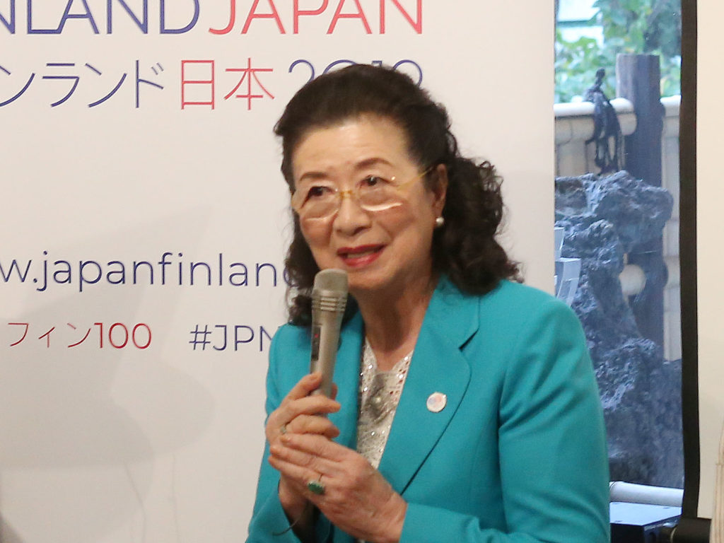 LifTe 北欧の暮らし フィンランド 日本 国交100周年 親善大使 石井幹子