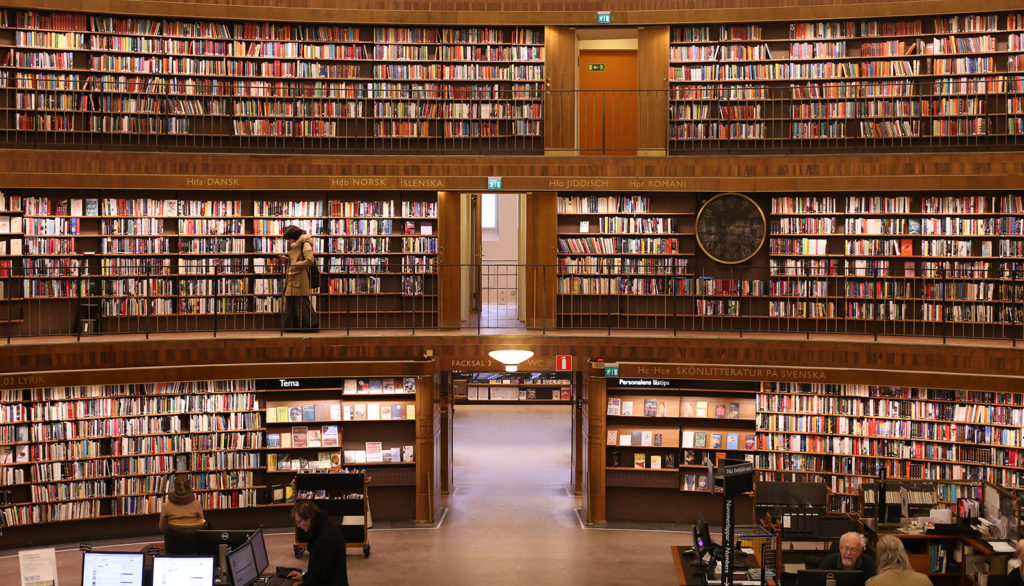 LifTe 北欧の暮らし ストックホルム市立図書館