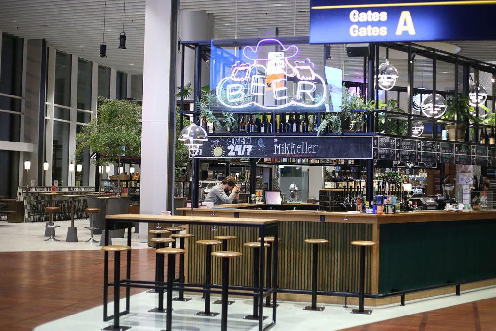 LifTe 北欧の暮らし コペンハーゲン空港 ミッケラーバー
