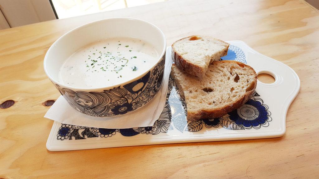LifTe 北欧の暮らし metsa village メッツァビレッジ アラビア カフェ パストラーリ サーモンスープ