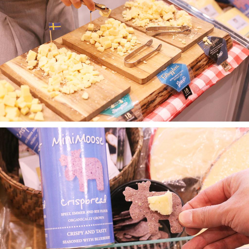 LifTe 北欧の暮らし FOODEX2019 スウェーデンパビリオン swecheese ハードチーズ