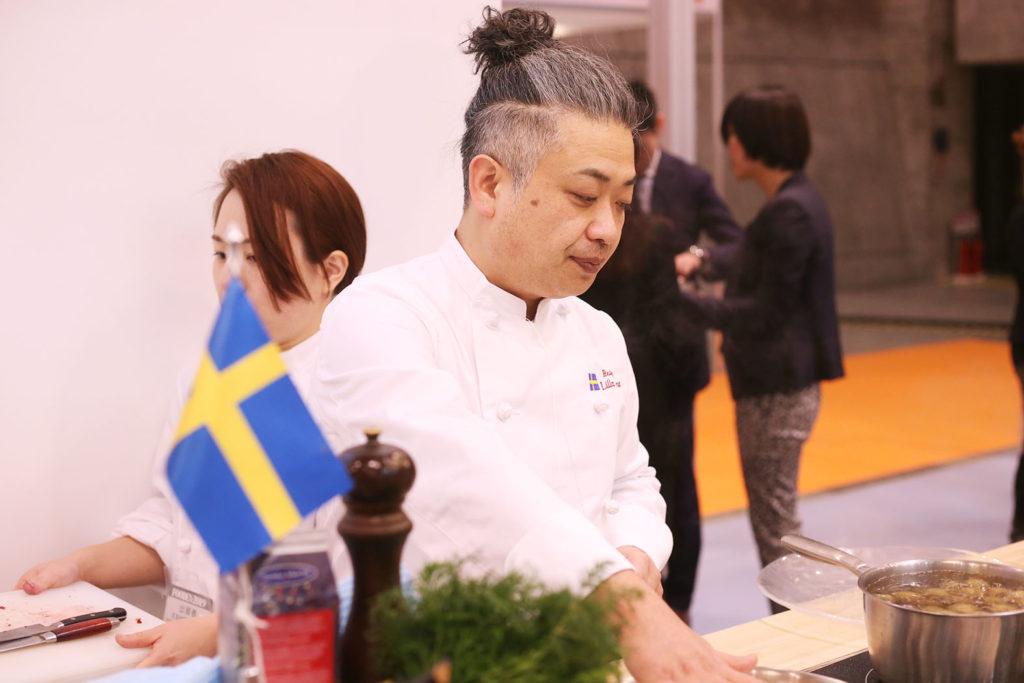 LifTe 北欧の暮らし FOODEX2019 スウェーデンパビリオン リラ・ダーラナ 遠藤シェフ