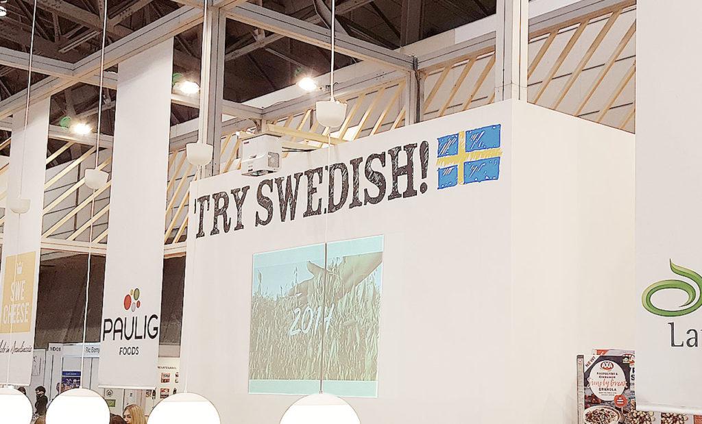 LifTe 北欧の暮らし FOODEX2019 スウェーデンパビリオン