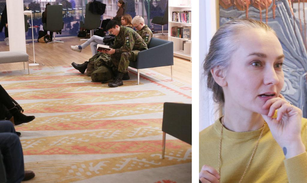 LifTe 北欧の暮らし ヘルシンキ フィンランド OODI 中央図書館 ピーア・ケト ミンア・カント