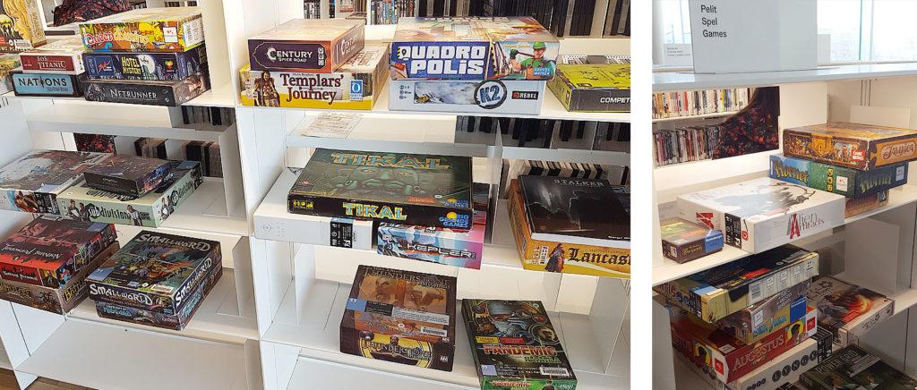 LifTe 北欧の暮らし ヘルシンキ フィンランド 3F OODI 中央図書館 ボードゲーム