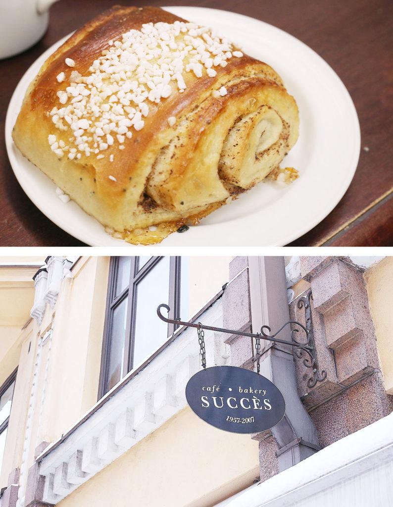 LifTe 北欧の暮らし 北欧旅日記 フィンランド ヘルシンキ カフェサクセス cafe success シナモンロール