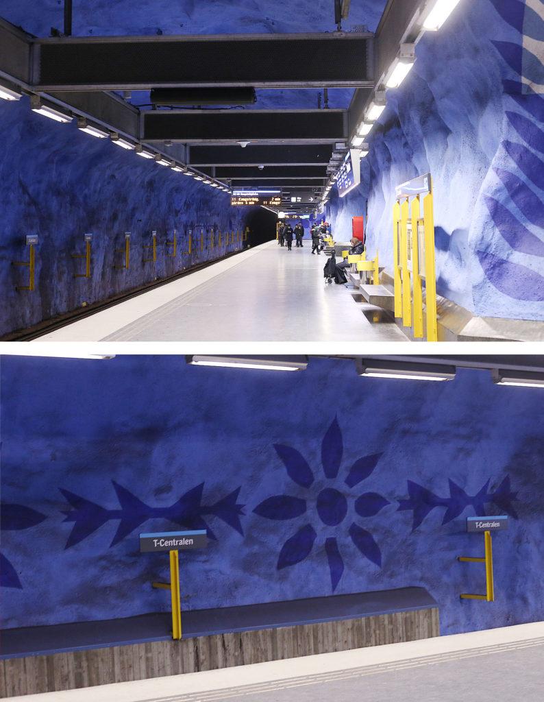 LifTe 北欧の暮らし T-Centralen station ストックホルム 世界ふれあい街歩き スウェーデン 地下鉄