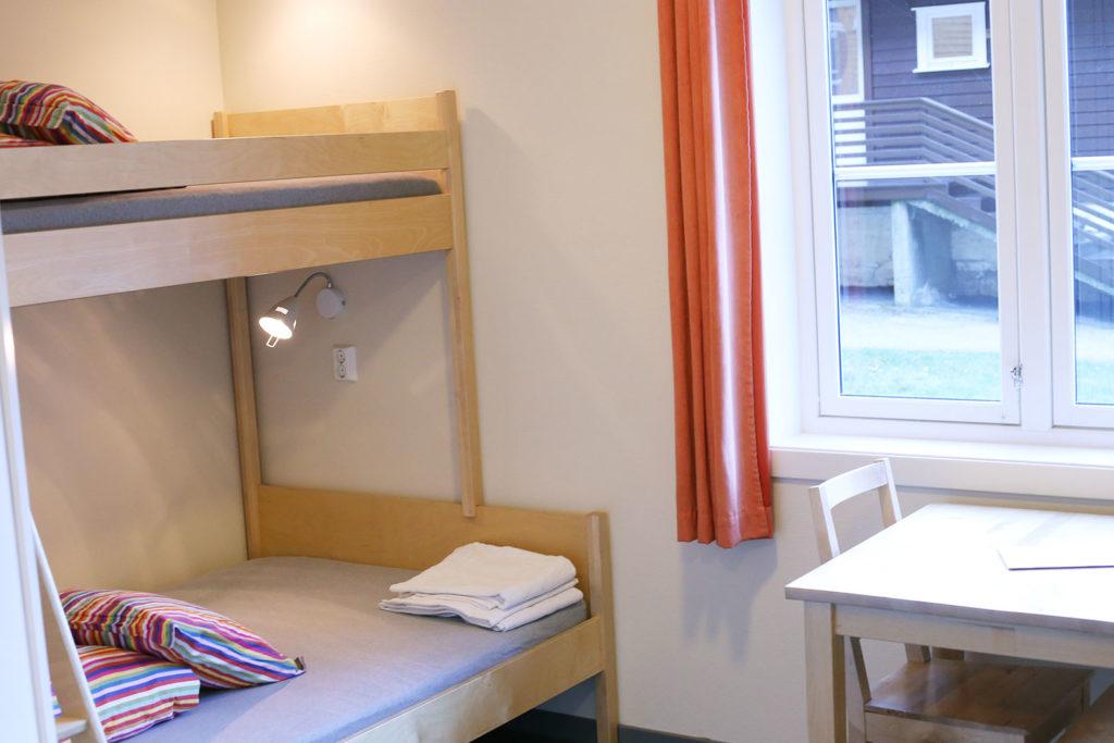 LifTe 北欧の暮らし ノルウェー フロム ユースホステル フィヨルド HI Flåm 室内