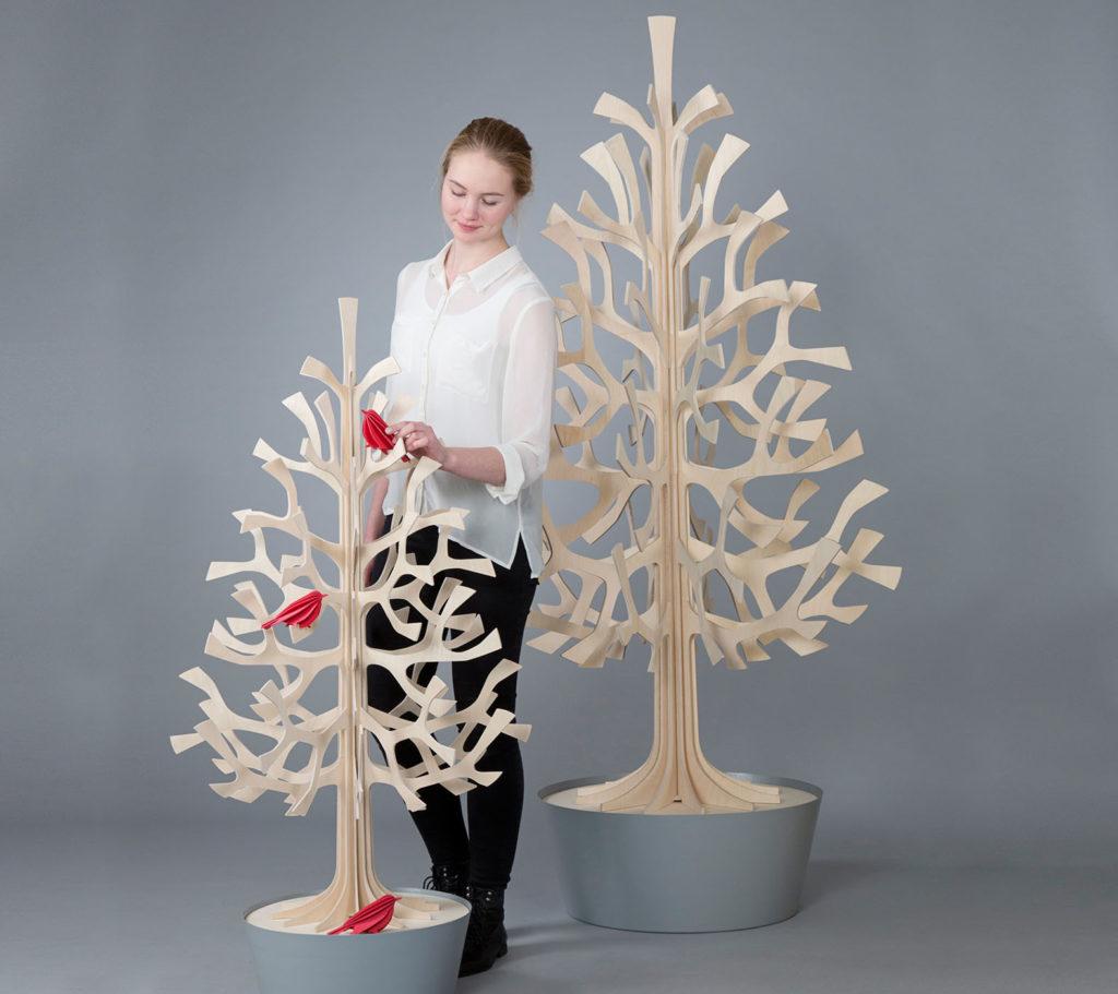 LifTe 北欧の暮らし フィンランド オウル Lovi ロヴィ クリスマスツリー
