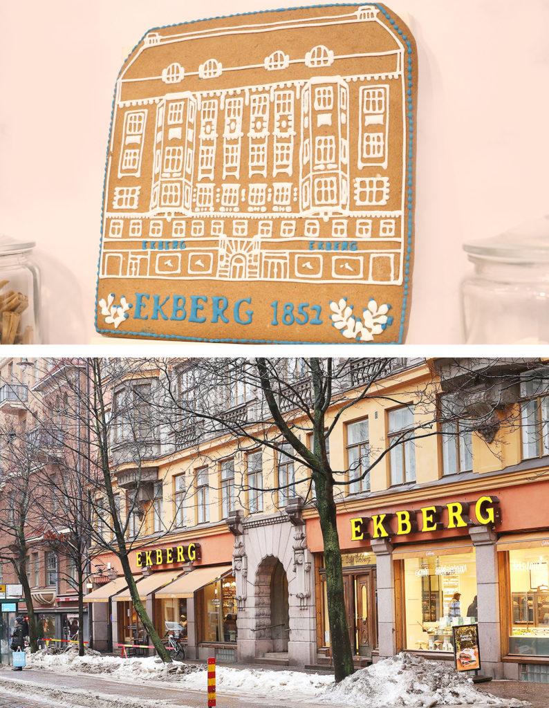 LifTe 北欧の暮らし フィンランド エクベリ 松屋銀座 EKBERG ジンジャークッキー エクベリ外観