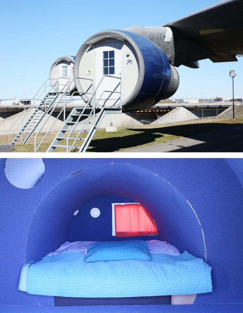 ifTe 北欧の暮らし スウェーデン アーランダ空港 ステイジャンボ ユースホステル エンジンルーム