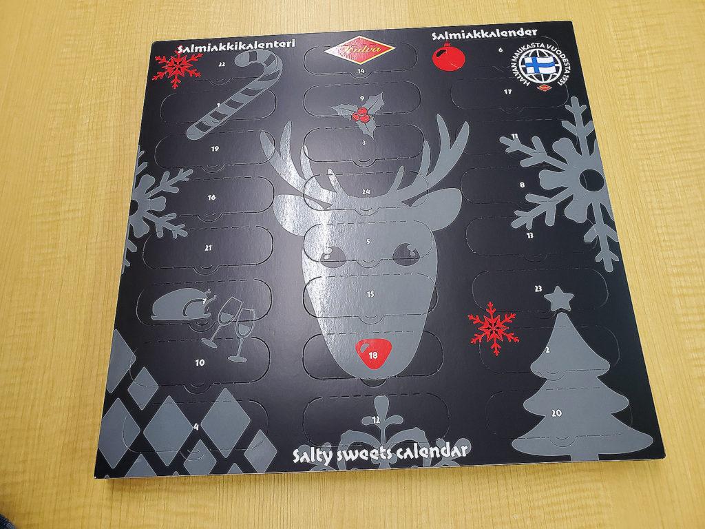 LifTe 北欧の暮らし アドベントカレンダー サルミアッキ ユールカレンダー