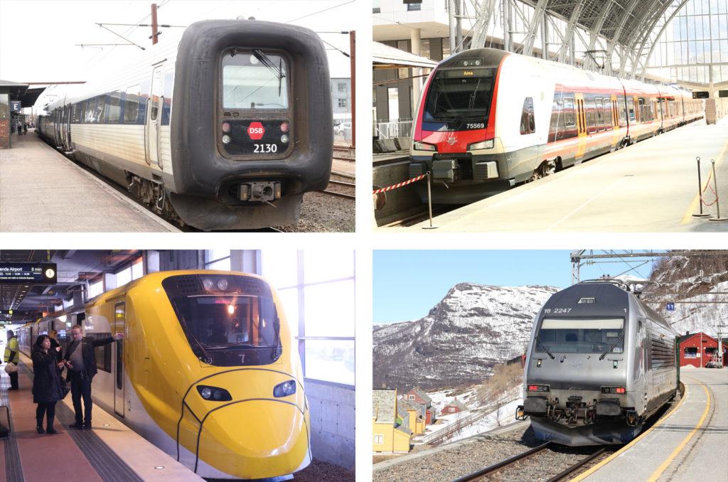 LifTe 北欧の暮らし ユーレイルパス 各種鉄道
