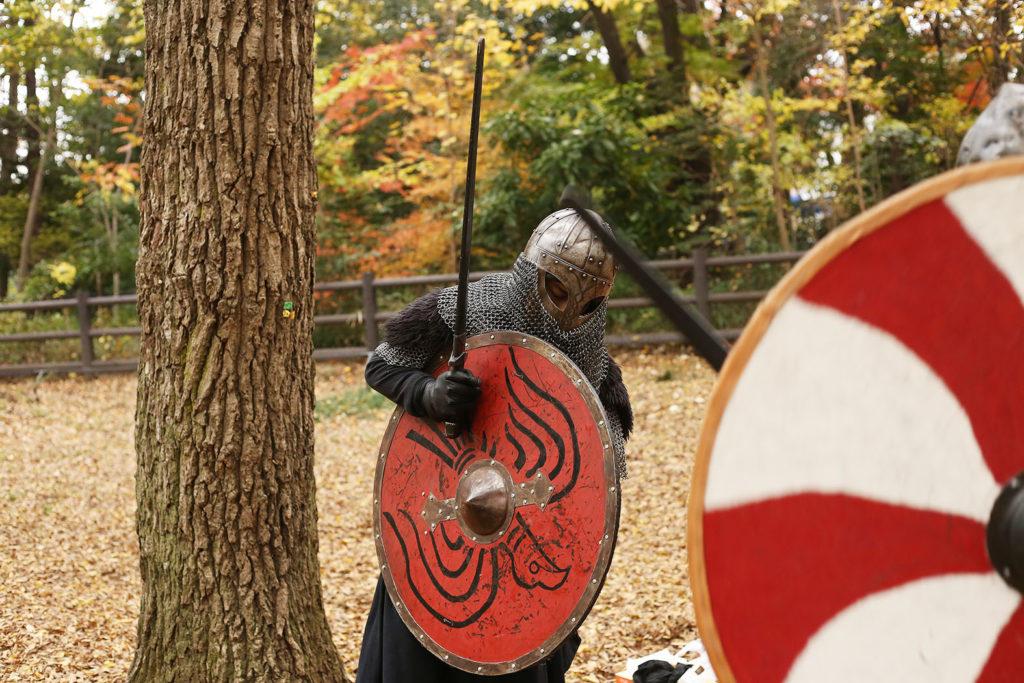 LifTe 北欧の暮らし ヴァイキングバトルクラブ 吉祥寺 井の頭公園 準備