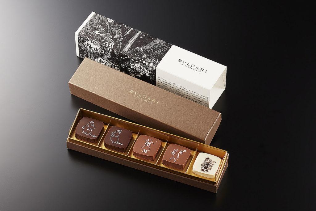 LifTe 北欧の暮らし ブルガリ ムーミン 松屋銀座 チョコレート 5種 ブルガリ イル・チョコラート