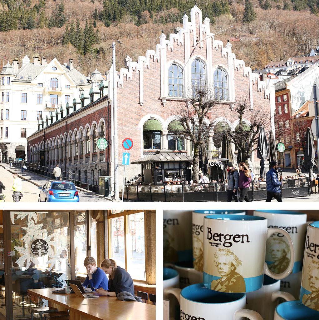 LifTe 北欧の暮らし ベルゲン スターバックスコーヒー マグカップ ベルゲンマグ グリーグ