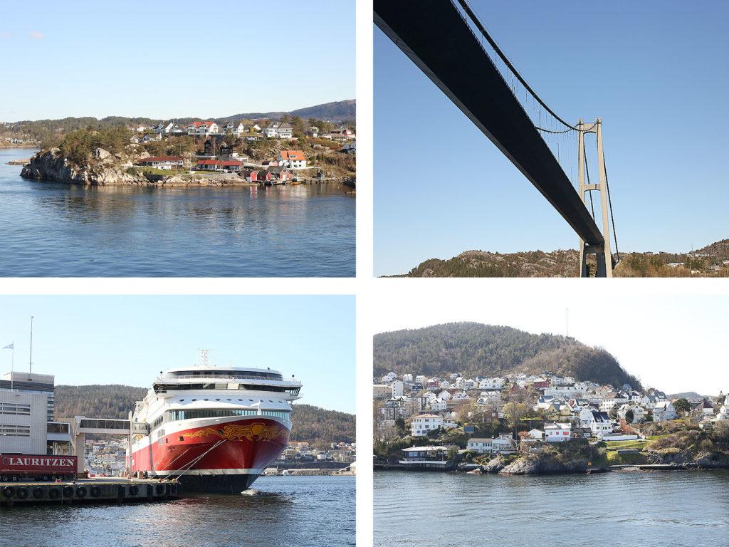 LifTe 北欧の暮らし ベルゲン 船旅 フィヨルドライン