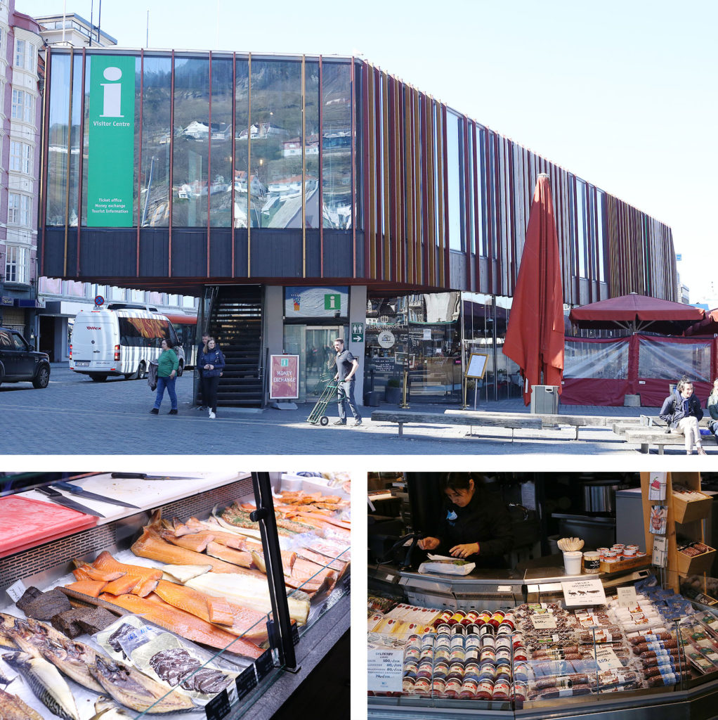 LifTe 北欧の暮らし ベルゲン 魚市場 マーケット fishmarket in bergen