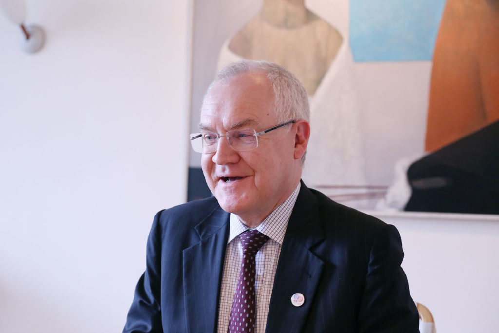 LifTe 北欧の暮らし サウナ フィンランド大使館 ペッカ・オルパナ駐日フィンランド大使