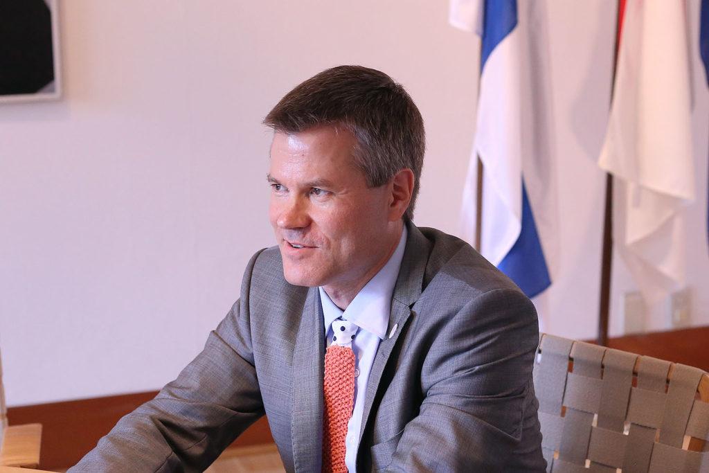 LifTe 北欧の暮らし サウナ フィンランド大使館 マルクス・コッコ広報参事官