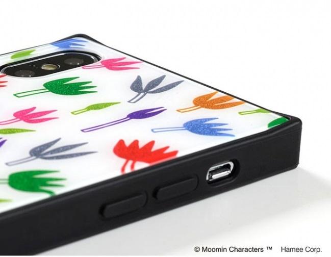 LifTe 北欧の暮らし ムーミン iphoneケース グリッター hamee フチ