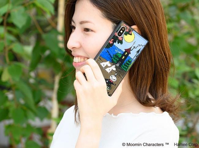 LifTe 北欧の暮らし ムーミン iphoneケース グリッター hamee