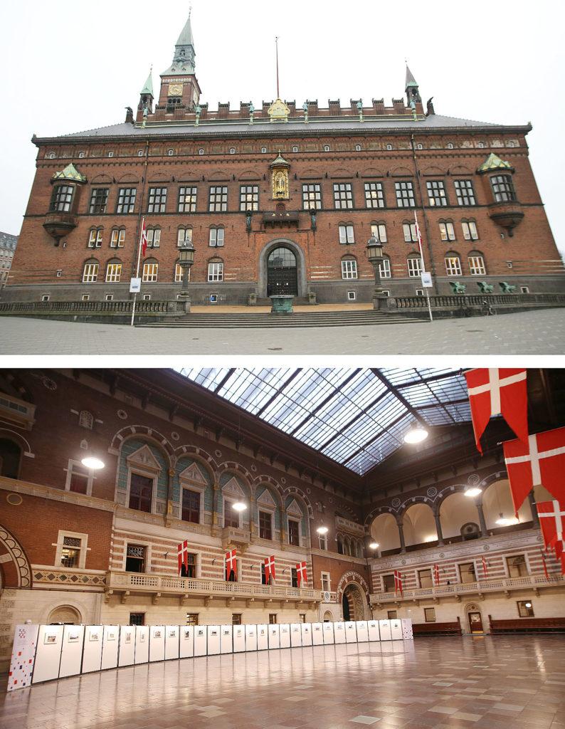 LifTe 北欧の暮らし 北欧旅日記 北欧現地レポート2日目 デンマーク コペンハーゲン 市庁舎