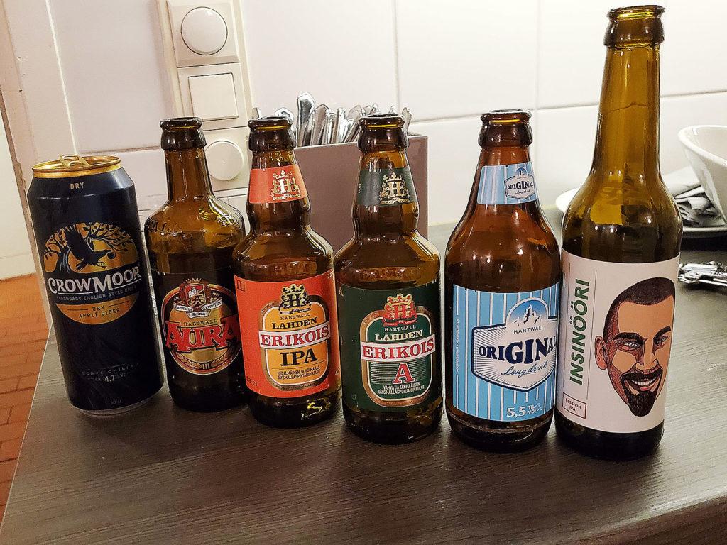 LifTe 北欧の暮らし おすすめ フィンランド サウナ Katajanokan Kasino(カタヤノッカン カシノ) ビール