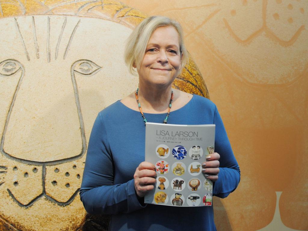 LifTe 北欧の暮らし リサ・ラーソン展 創作と出会いをめぐる旅 松屋銀座 ヨハンナ・ラーソン