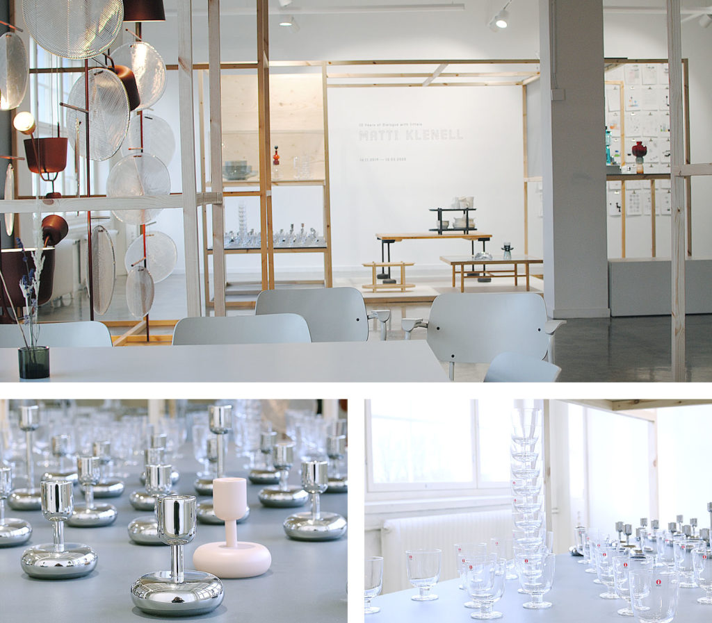 LifTe 北欧の暮らし ヘルシンキ 冬の北欧出張 4日目 北欧現地レポート 北欧旅日記 イッタラ&アラビア デザインセンター 企画展 マッティ・クレネル レンピ
