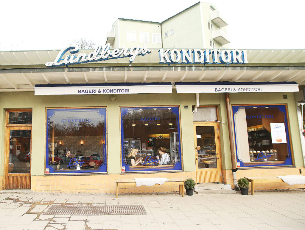 LifTe 北欧の暮らし スウェーデン プリンセスケーキ 「Lundbergs konditori」ストックホルム