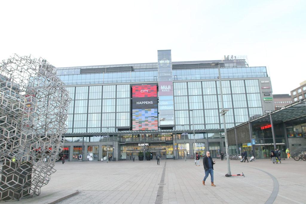 LifTe 北欧の暮らし 北欧現地レポート 4日目 北欧旅日記 ヘルシンキ フィンランド カンピショッピングセンター Kamppi 無印良品 MUJI
