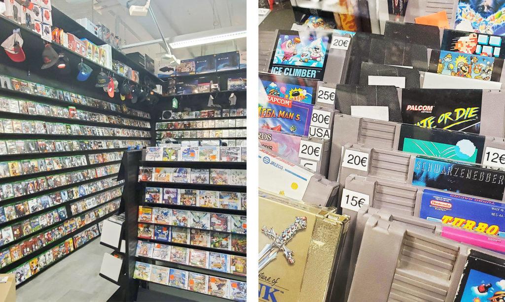 LifTe 北欧の暮らし 北欧現地レポート 4日目 北欧旅日記 ヘルシンキ フィンランド カンピショッピングセンター Kamppi Konsolinet ゲームショップ NES 任天堂