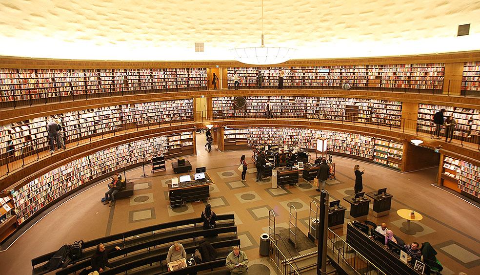 LifTe 北欧の暮らし 北欧図書館まとめ ストックホルム市立図書館 ストックホルム