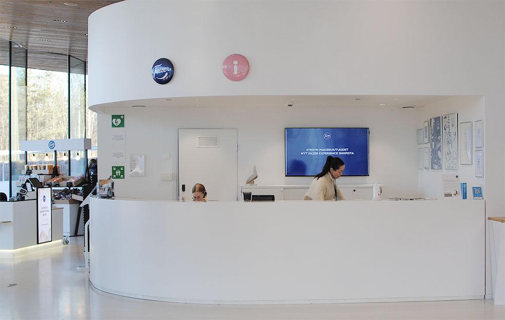 LifTe 北欧の暮らし Fazer experience visitor center ファッツエル エクスペリエンス ビジターセンター