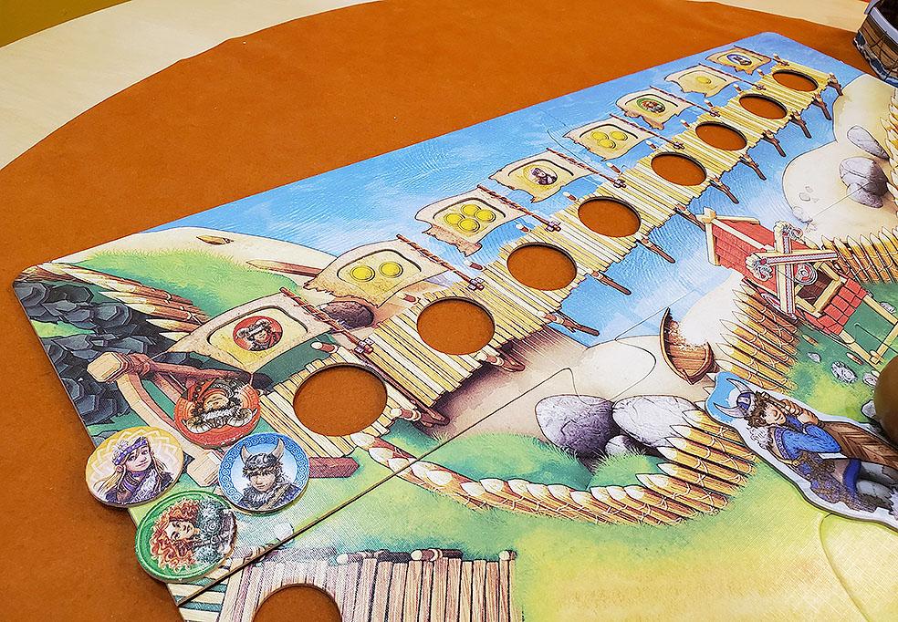 LifTe 北欧の暮らし北欧ボードゲーム すごろくや バイキングの谷 桟橋