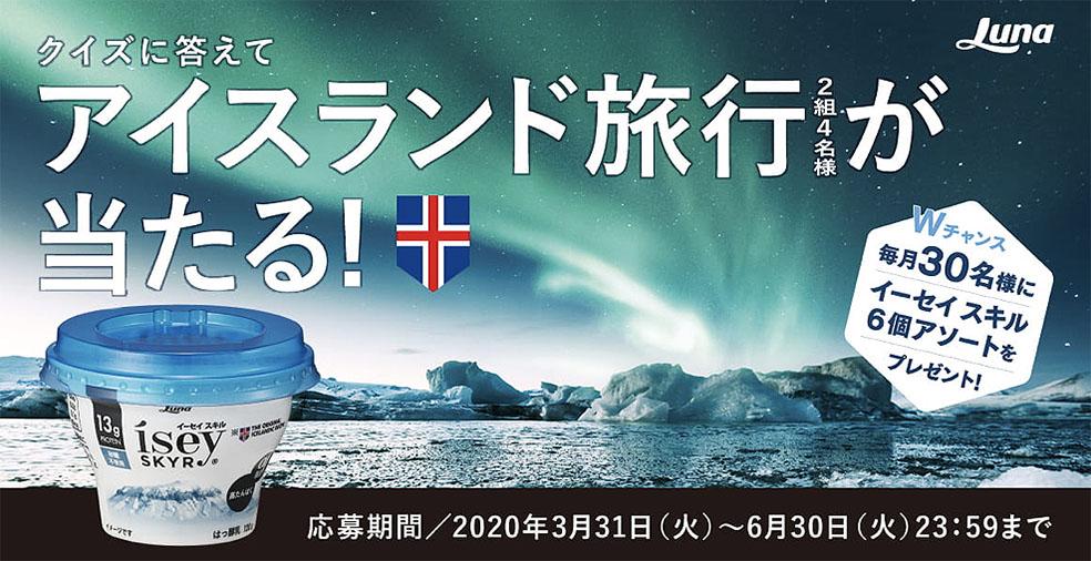 アイスランド スキル SKYR 国民食 スキムミルク アイスランド旅行 キャンペーン 日本ルナ