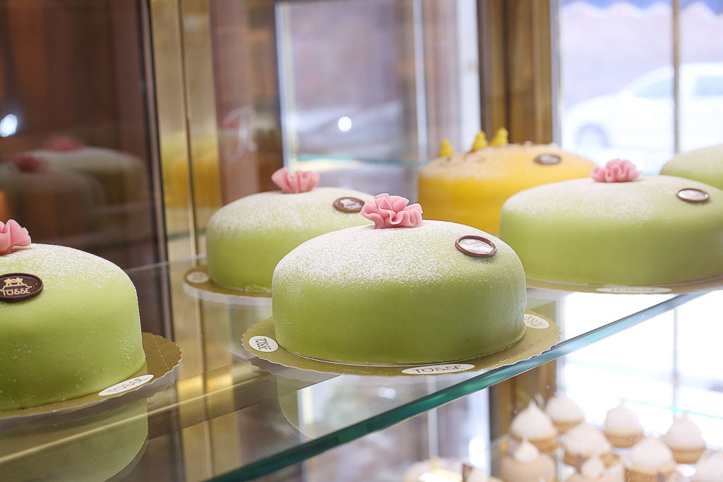 LifTe 北欧の暮らし スウェーデン ストックホルム Tosse 老舗カフェ Tössebageriet プリンセスケーキ